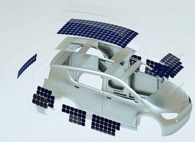 Electric Vehicles with Solar Panels