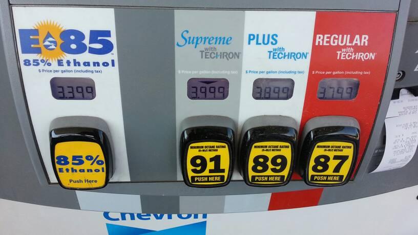 flex fuel price