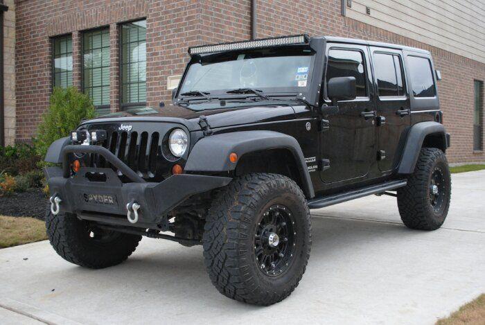 Jeep Wrangler Light Bars